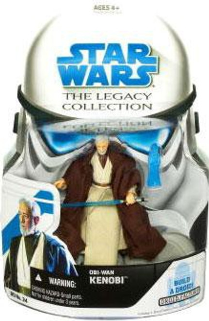 Star Wars A New Hope 2008 Legacy Collection Droid Factory Obi-Wan Kenobi Action Figure BD34 [Episode IV]