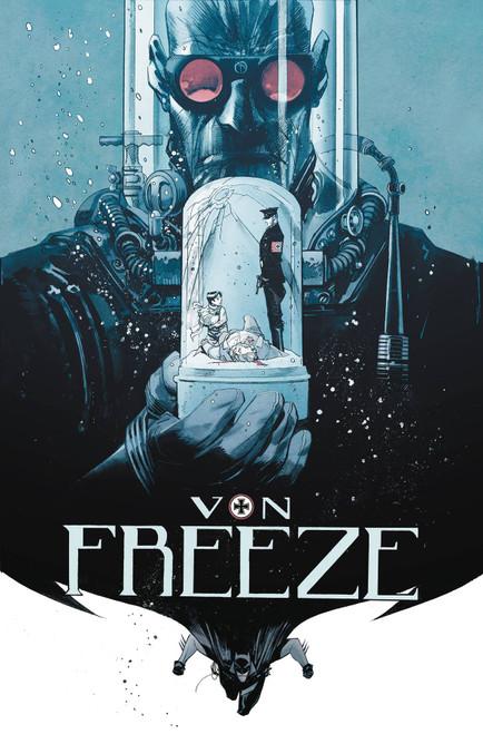 DC Black Label Batman Curse Of The White Knight Presents Von Freeze #1 Comic Book