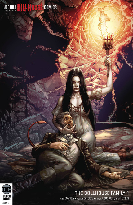 DC Black Label Dollhouse Family #1 of 6 Hill House Comics Comic Book [Jay Anacleto Variant Cover]