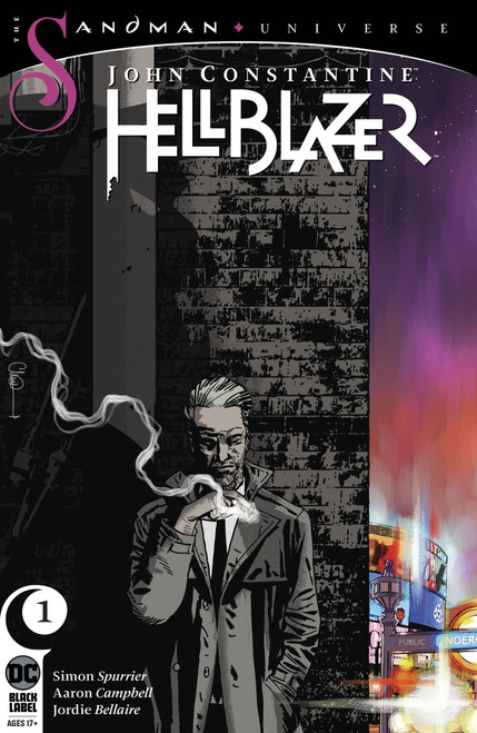 DC John Constantine Hellblazer #1 The Sandman Universe Comic Book [Charlie Adlard Variant Cover]