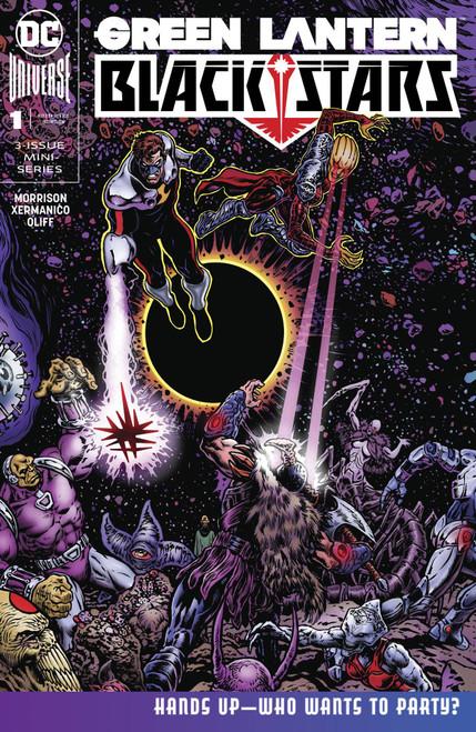 DC Green Lantern Blackstars #1 Comic Book