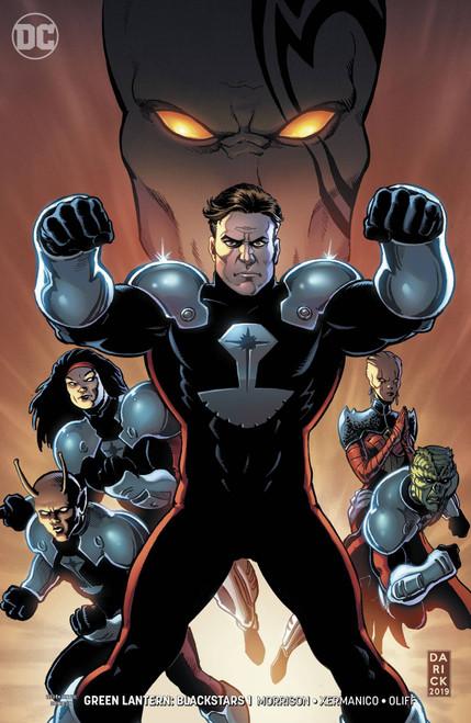 DC Green Lantern Blackstars #1 Comic Book [Darick Robertson Variant Cover]