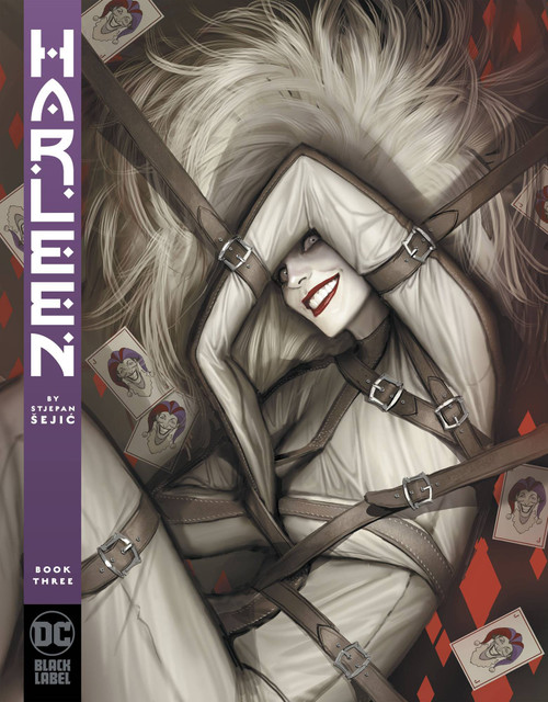 DC Black Label Harleen #3 Comic Book [Stjepan Sejic]