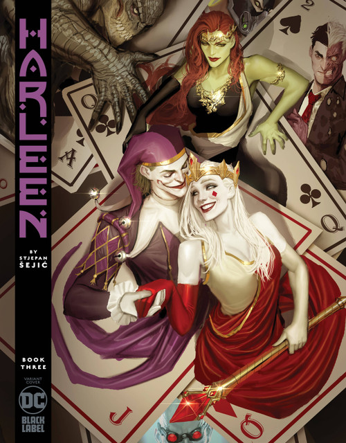 DC Black Label Harleen #3 Comic Book [Stjepan Sejic Variant Cover]