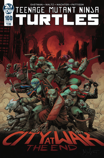IDW Teenage Mutant Ninja Turtles Ongoing #100 Comic Book