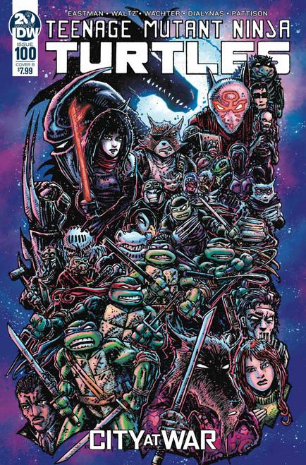 IDW Teenage Mutant Ninja Turtles Ongoing #100 Comic Book [Kevin Eastman Variant Cover B]