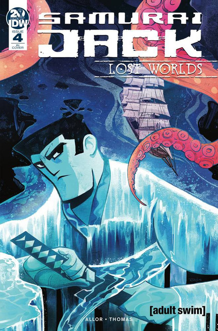IDW Samurai Jack Lost Worlds #4 Comic Book [Nick Robles Variant Cover]