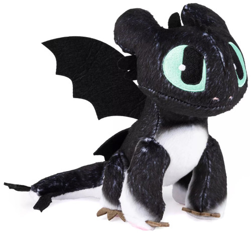 How to Train Your Dragon The Hidden World Nightlight 6.5-Inch Plush [Green Eyes]