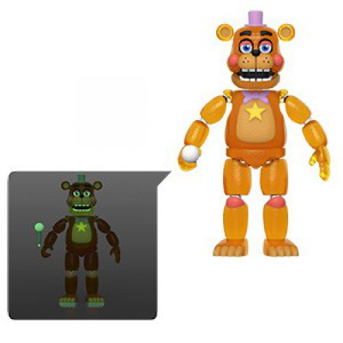 Funko Five Nights at Freddy's Pizzeria Simulator Rockstar Freddy Action Figure [Translucent, Glow in the Dark]