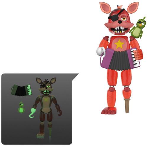 Funko Five Nights at Freddy's Pizzeria Simulator Rockstar Foxy Action Figure [Translucent, Glow in the Dark]