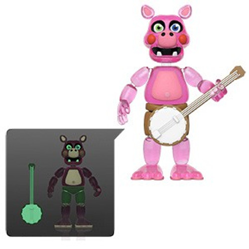 Funko Five Nights at Freddy's Pizzeria Simulator Pigpatch Action Figure [Translucent, Glow in the Dark]