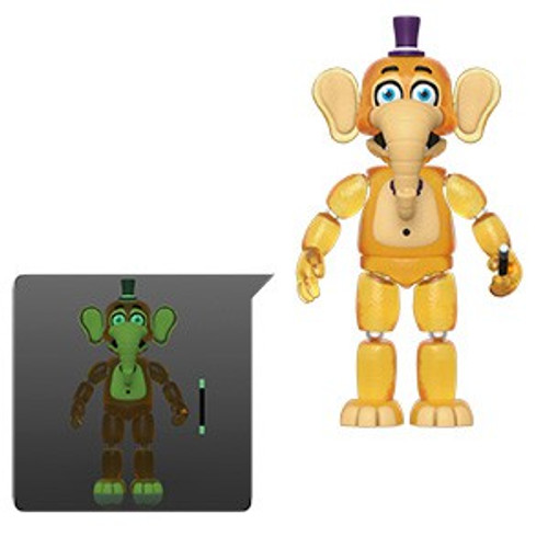 Funko Five Nights at Freddy's Pizzeria Simulator Orville Elephant Action Figure [Translucent, Glow in the Dark]