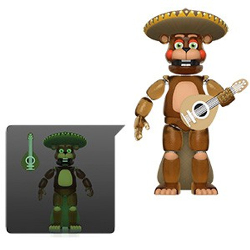 Funko Five Nights at Freddy's Pizzeria Simulator El Chip Action Figure [Translucent, Glow in the Dark]
