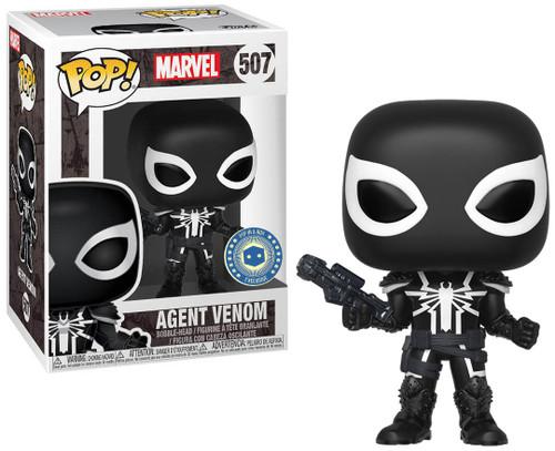 Funko POP! Marvel Agent Venom Exclusive Vinyl Figure #507