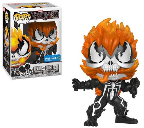 Funko POP! Marvel Venomized Ghost Rider Exclusive Vinyl Figure #369