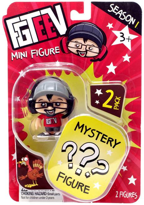 FGTeeV Season 1 Duddy & Mystery Action Figure 2-Pack