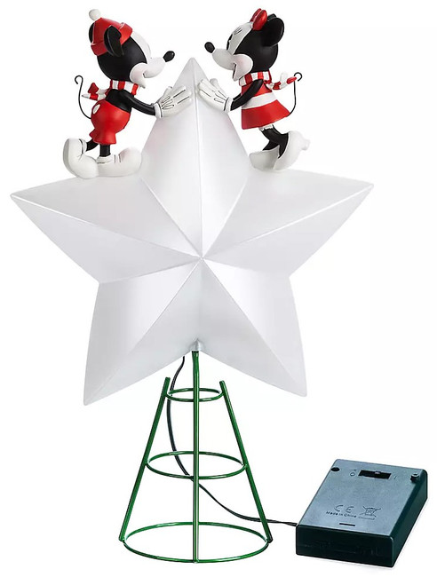 Disney Mickey Mouse Mickey & Minnie Exclusive Tree Topper [2019]
