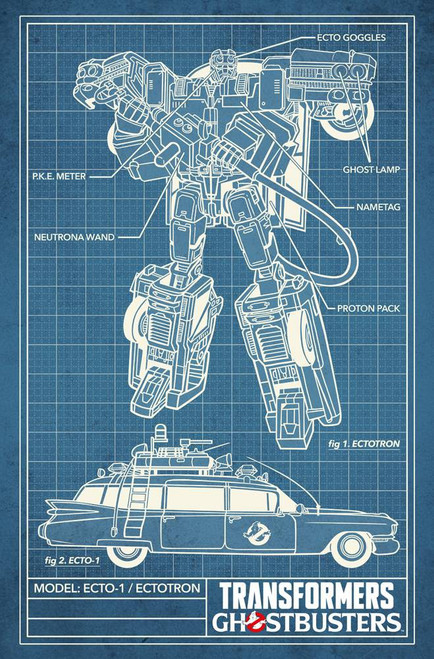 IDW Transformers & Ghostbusters #4 of 5 Comic Book [Chris Panda Variant Cover]