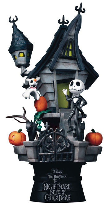 Disney D-Stage Nightmare Before Christmas Exclusive 6-Inch Diorama Statue DS-035