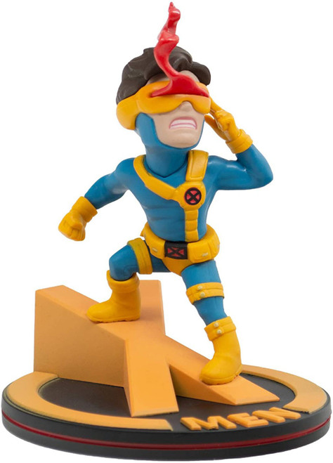 Marvel X-Men Q-Fig Cyclops 4-Inch Diorama Figure [1990's Costume]