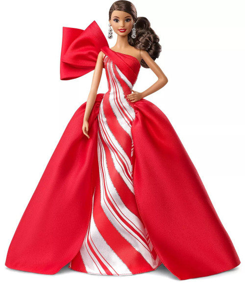 Signature 2019 Holiday Barbie Barbie Doll [Brunette with Side Ponytail]