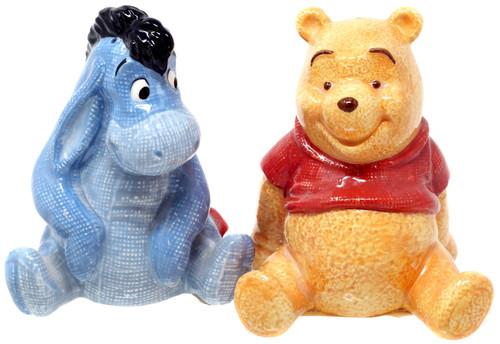 Disney Winnie the Pooh Pooh & Eeyore Exclusive Salt & Pepper Shakers