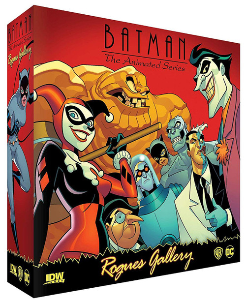 DC Batman: The Animated Series Rogues Gallery Game