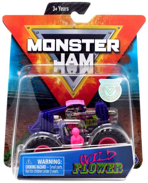 Monster Jam Wild Flower Diecast Car