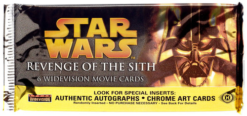 Star Wars Revenge of the Sith Movie WIDEVISION Trading Card Pack [Hobby]