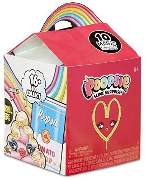 Poopsie Slime Surprise! Drop 3 Poop Pack Mystery Pack [Red Happy Meal Inspired Package]
