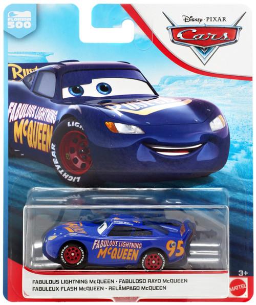 Disney / Pixar Cars Cars 3 Florida 500 Fabulous Lightning McQueen Diecast Car [2019]