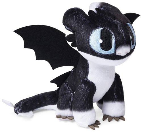 How to Train Your Dragon The Hidden World Nightlight 6.5-Inch Plush [Blue Eyes]