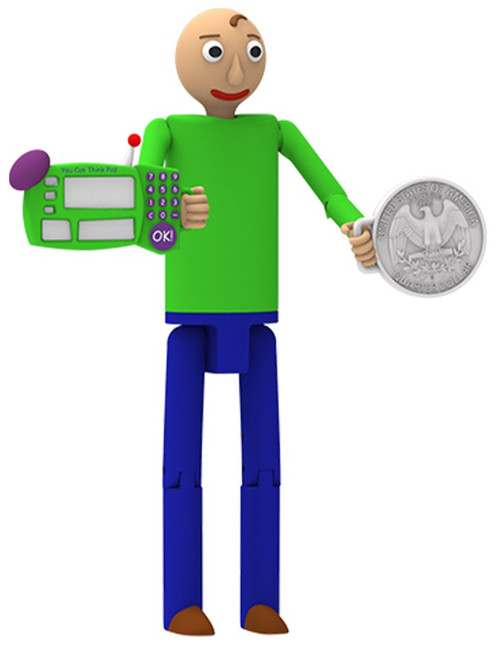 Baldi's Basics Series 1 Baldi Action Figure