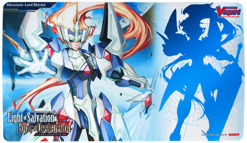 Cardfight Vanguard Card Supplies Light of Salvation Logic of Destruction Playmat