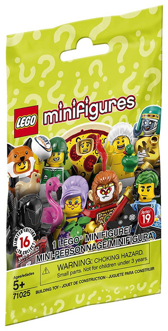 LEGO Minifigures Series 19 Mystery Pack [1 RANDOM Figure]