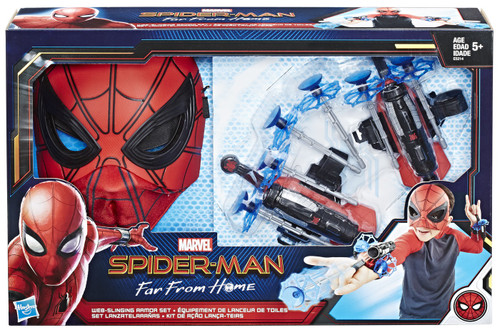 Marvel Spider-Man Far From Home Web-Slinging Armor Set Roleplay Toy