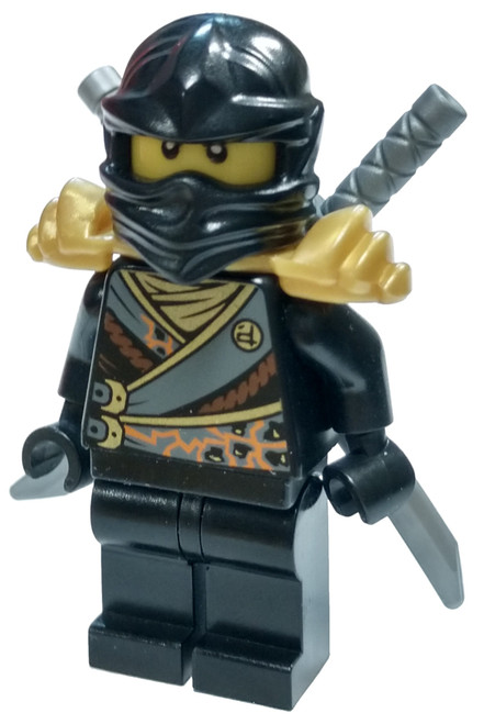 LEGO Ninjago Cole Minifigure [Rebooted with Katanas Loose]