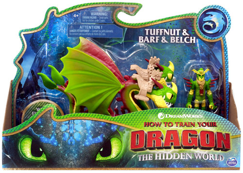 How to Train Your Dragon The Hidden World Tuffnut & Belch & Barf Action Figure 2-Pack