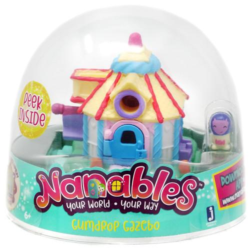 Nanables Gumdrop Gazebo .5-Inch Mini Playset