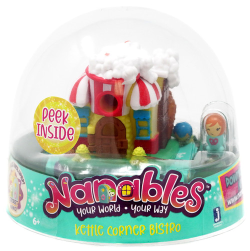 Nanables Kettle Corner Bistro .5-Inch Mini Playset