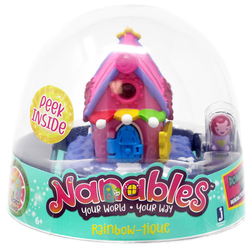 Nanables Rainbow-Tique .5-Inch Mini Playset