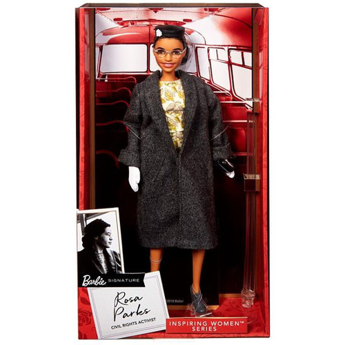 Barbie Inspiring Women Rosa Parks 11.5-Inch Doll