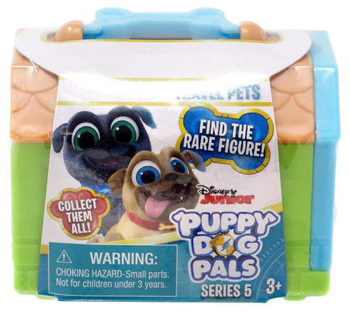 Disney Junior Puppy Dog Pals Series 5 Travel Pets Mystery Pack [Green]