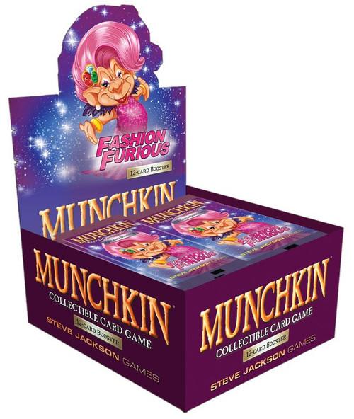 Munchkin Fashion Furious Booster Box
