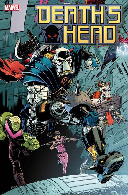 Marvel Comics Death's Head #4 of 4 Comic Book