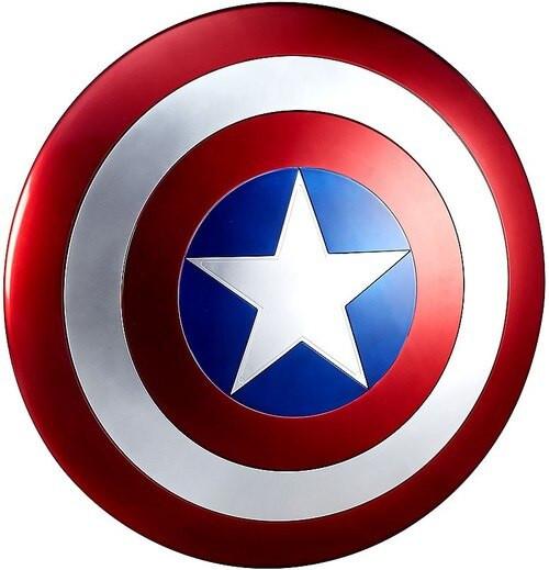 Marvel Legends Gear Captain America Shield Prop Replica [Movie Version, Open Package] [Used]