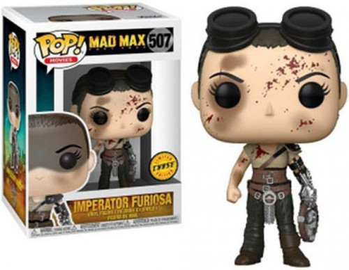 Funko Mad Max Fury Road POP! Movies Imperator Furiosa Vinyl Figure #507 [Bloody Face, Chase Version, Damaged Package]