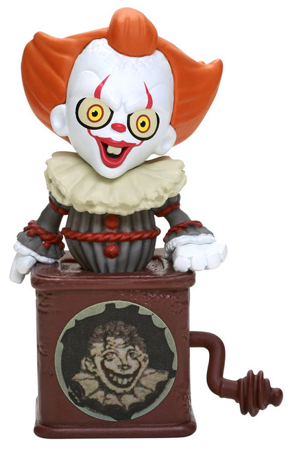 Funko IT Movie Chapter 2 Pennywise Jack-in-the-Box Exclusive 3-Inch Mystery Mini Figure Tin [IT Box]