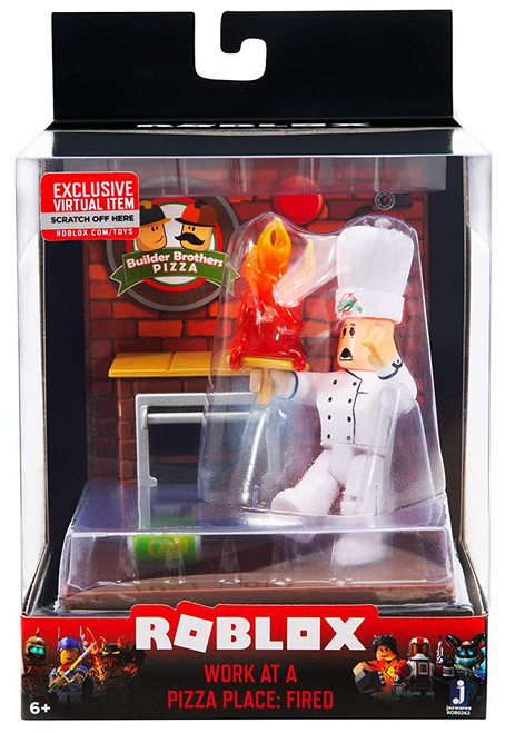 Roblox Desktop Series Work at a Pizza Place: Fired Action Figure