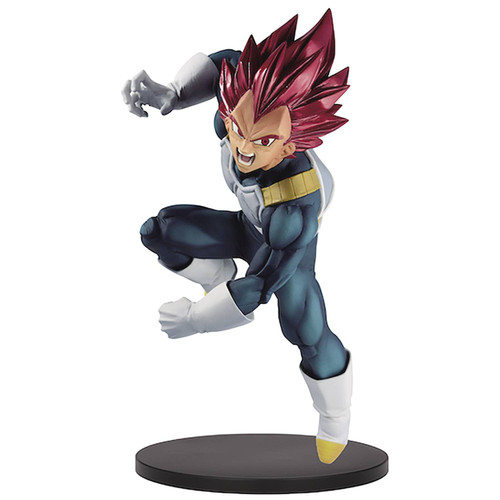 Dragon Ball Super Blood of Saiyans Super Siayan God Vegeta 6-Inch Collectible PVC Figure Vol.7 [Special Version]